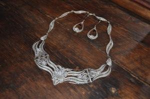 Filigree Necklace & Earrings